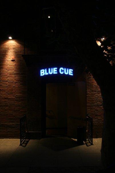 blue cue